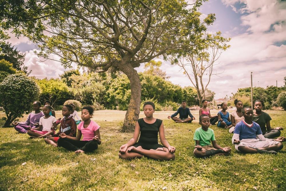 Yoga and Community .