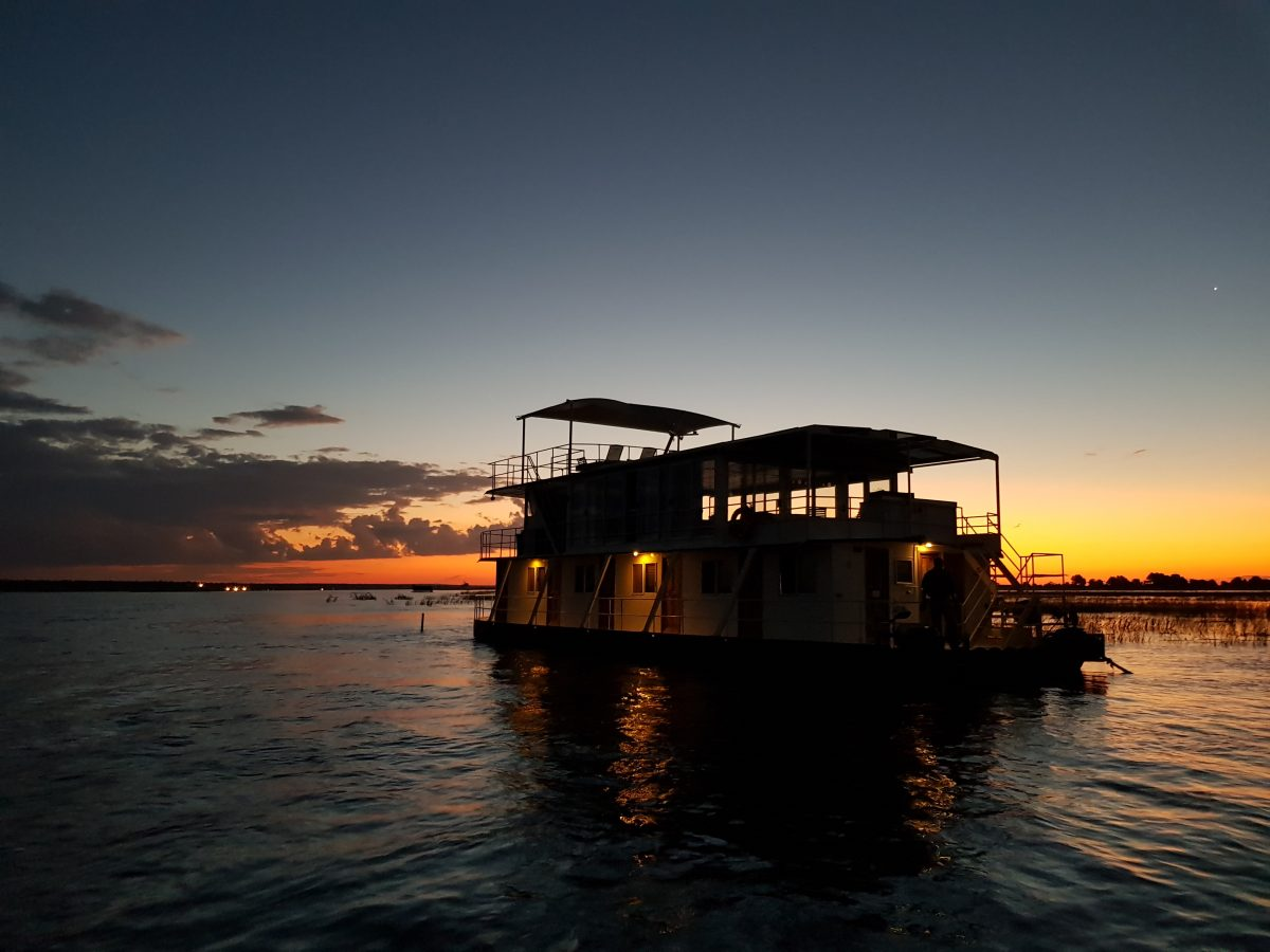 A safari on a houseboat is an experience never to be forgotten!