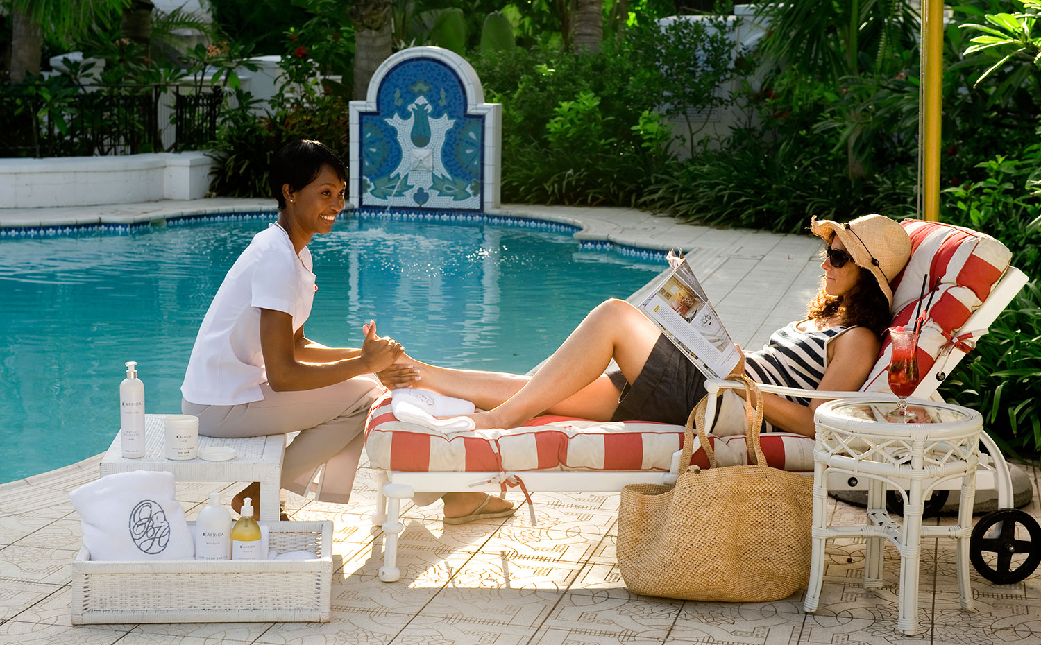 Embrace and Relax at The Oyster Box Hotel.