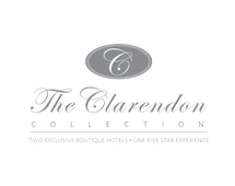 the clarendon logo